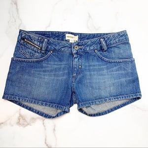 DIESEL Light Wash Dihar Jean Shorts Size 27